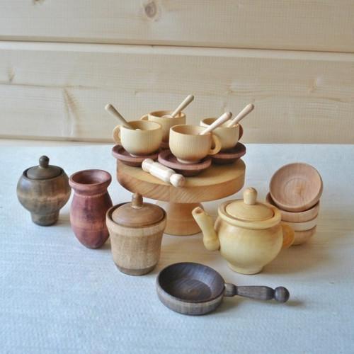 Tea Set Wooden toys
