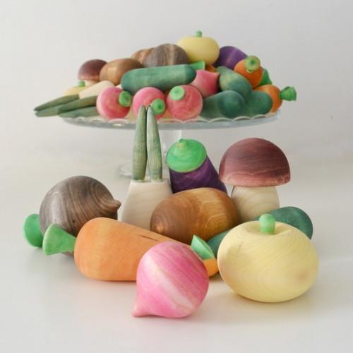 """Set of wooden food """"Vegetables"""""""