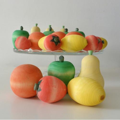 "Set of wooden food ""Fruits"""
